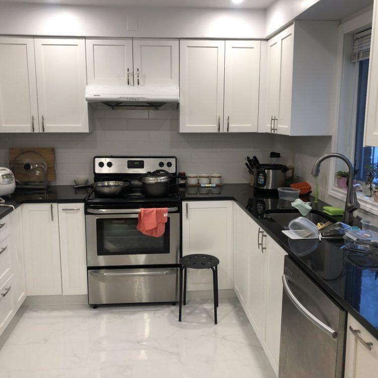 家庭建筑装修工程案例之:厨房升级更新