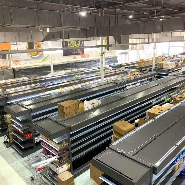 商业建筑装修工程案例之:大型购物超市